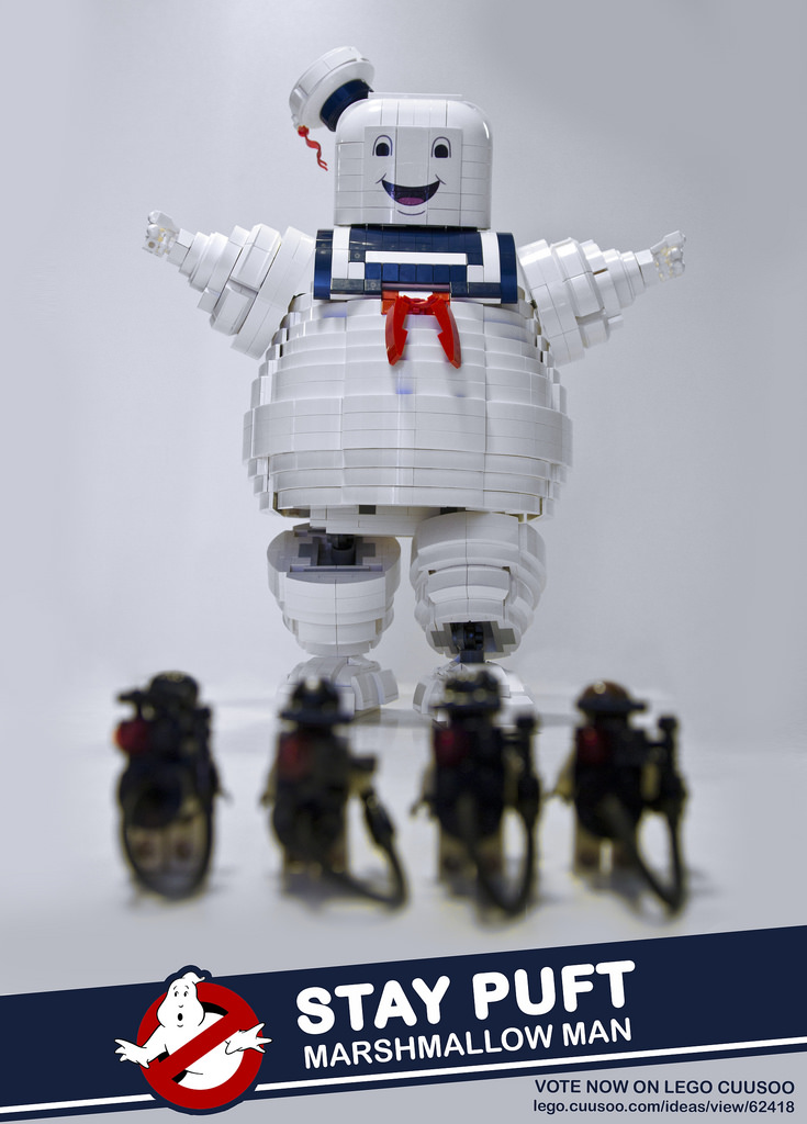 GHOSTBUSTERS STAY PUFT LEGO Set