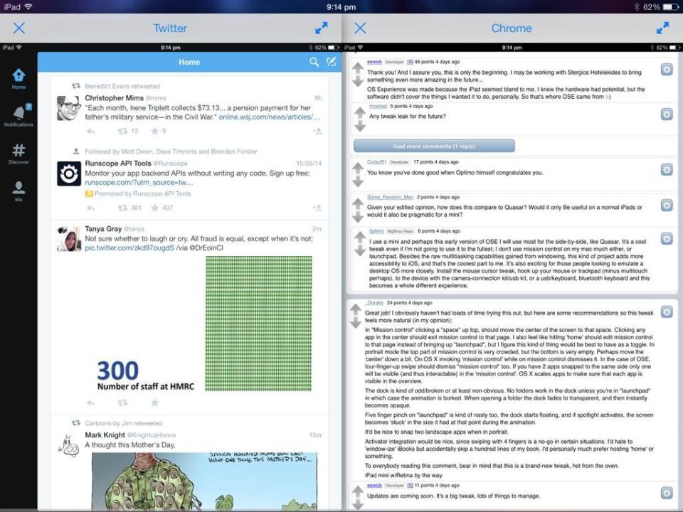 iPad Can Do Multitasking
