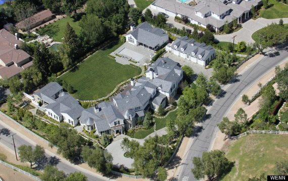 Big and Beautiful Celebrity Homes
