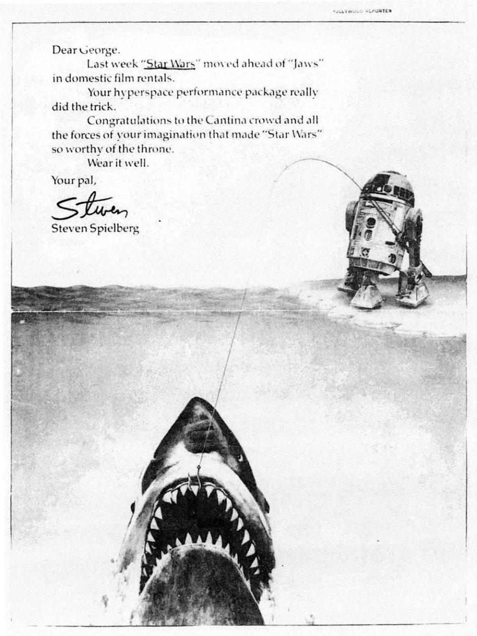 Original 1975 STAR WARS Casting Announcement