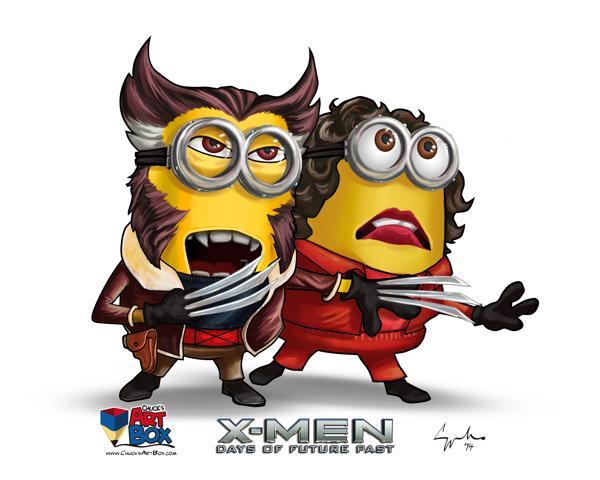 X-Minions Day of Future Past Mashup Art (14)