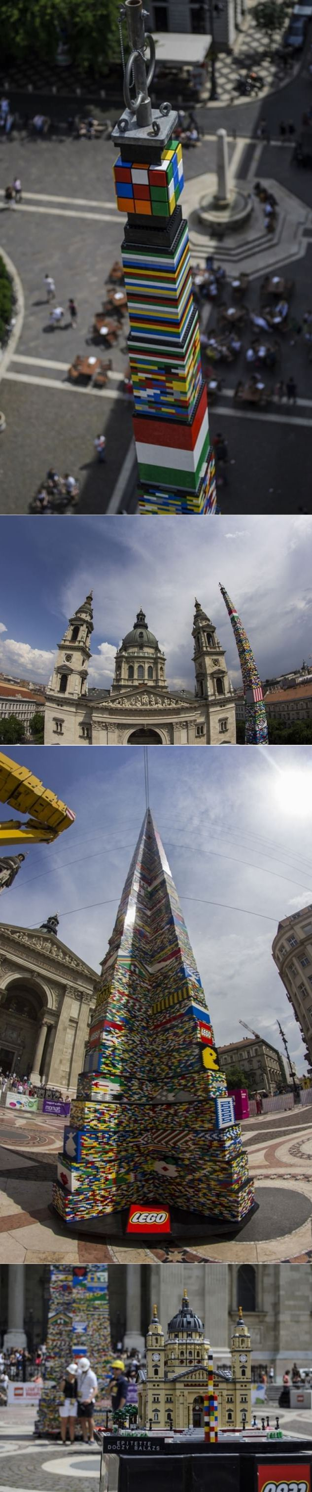 The World's Tallest LEGO Tower in Hungary