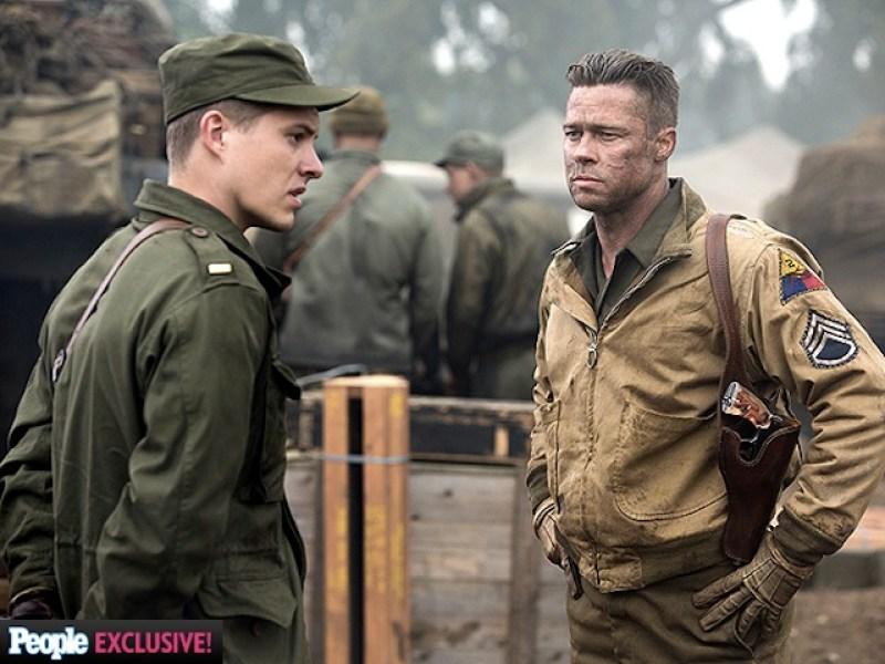 Brad Pitt's Wardaddy New Photos