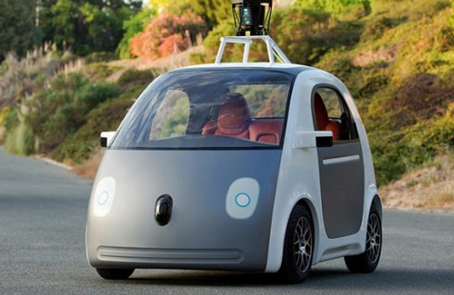 Google's Self-Driving Car Has No Pedals No Steering Wheel