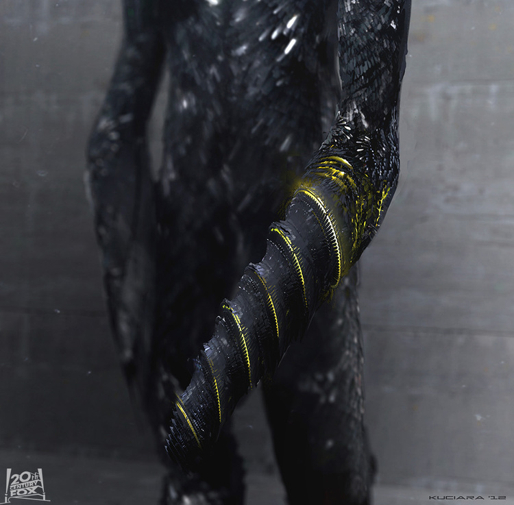 Sentinel Concept Art from X-MEN: DAYS OF FUTURE PAST