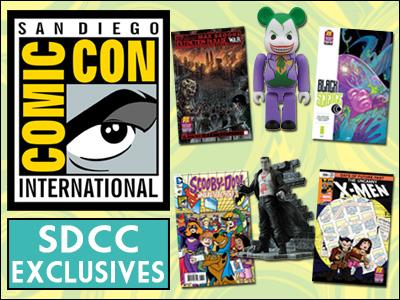 San Diego Comic-Con Exclusives
