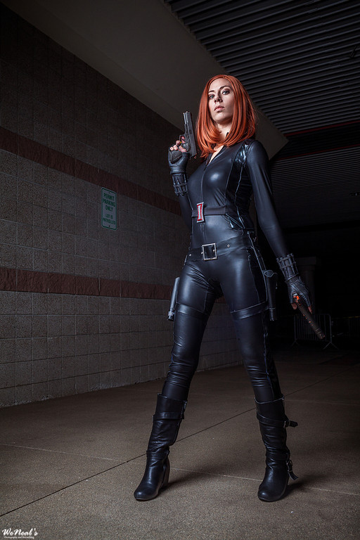 Captain America and Black Widow Cosplay