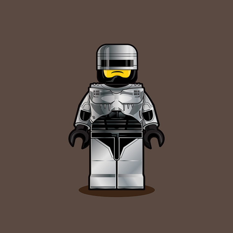 Classic Pop Culture Characters as LEGO Minifigures (13)