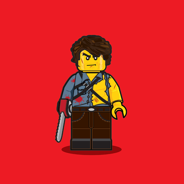 Classic Pop Culture Characters as LEGO Minifigures (3)