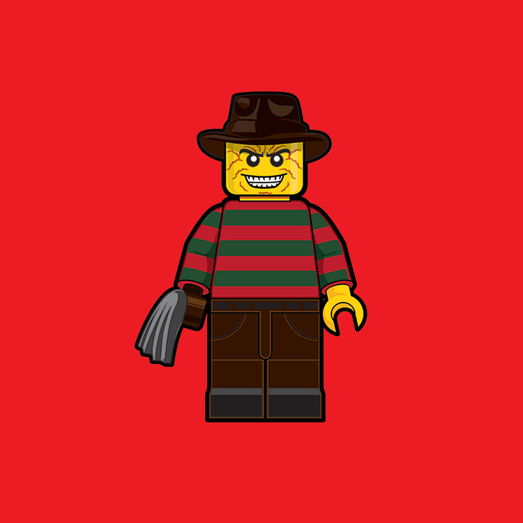 Classic Pop Culture Characters as LEGO Minifigures (5)