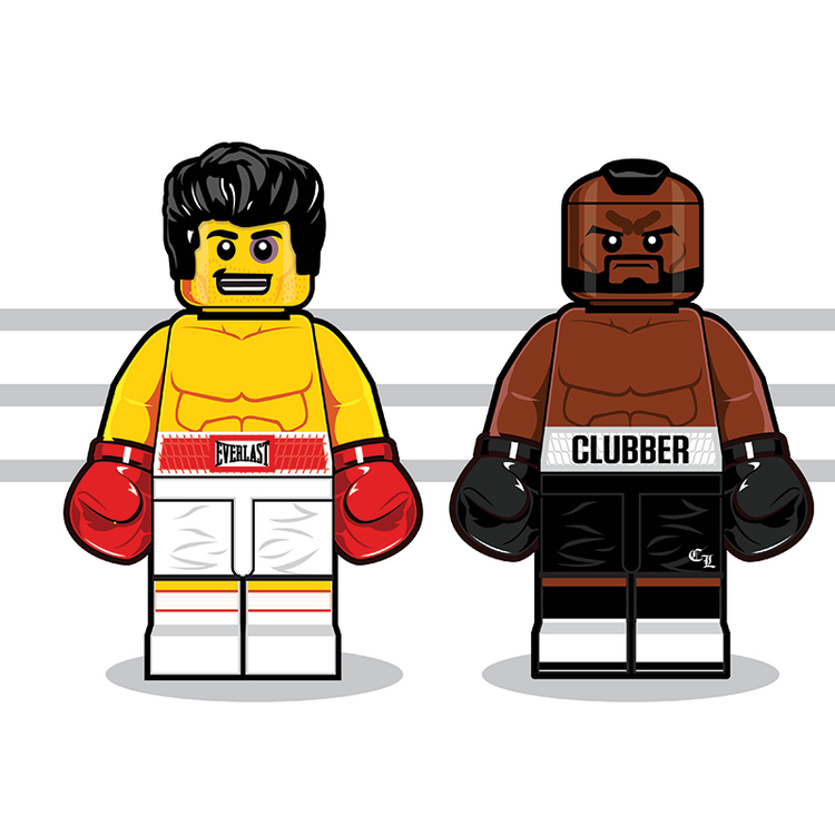 Classic Pop Culture Characters as LEGO Minifigures (8)