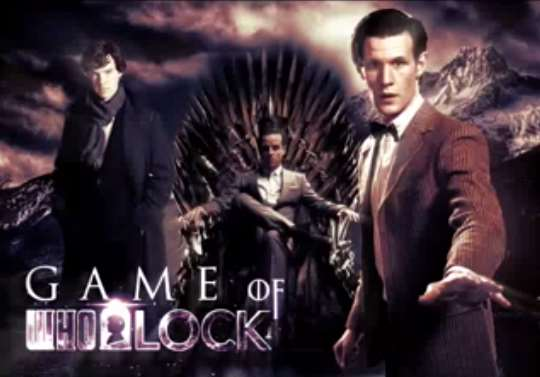 Doctor Who, Game of Thrones and Sherlock theme tune mashup