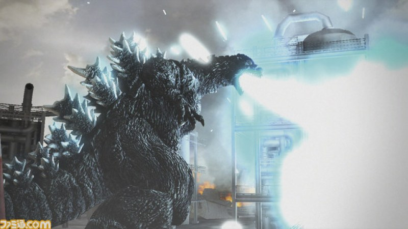 GODZILLA PS3 Gameplay Trailer
