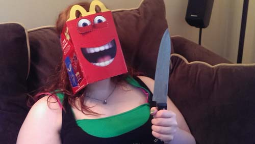 Pics That Prove The New HAPPY MEAL BOX Is Disturbing