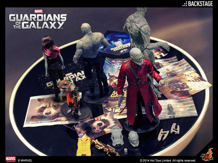Hot Toys Teases Guardians of the Galaxy Action Figures