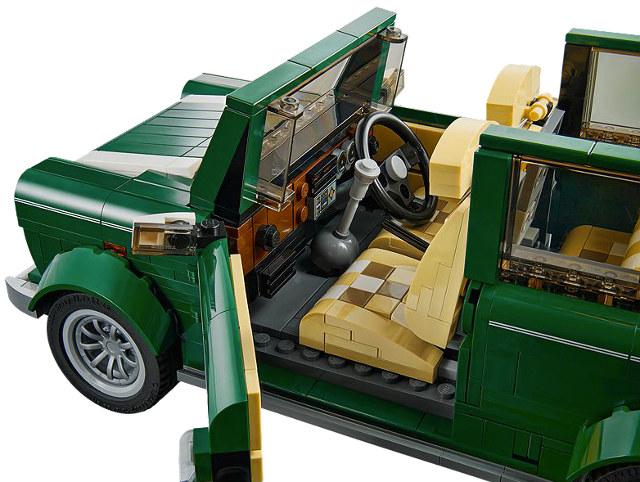 Classic Mini Cooper LEGO Set Coming In August