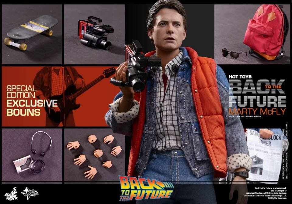 Back to the Future - 1/6th scale Marty McFly Collectible Figure