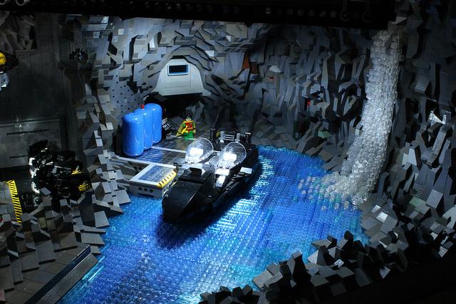 20,000 Pieces Lego BatCave