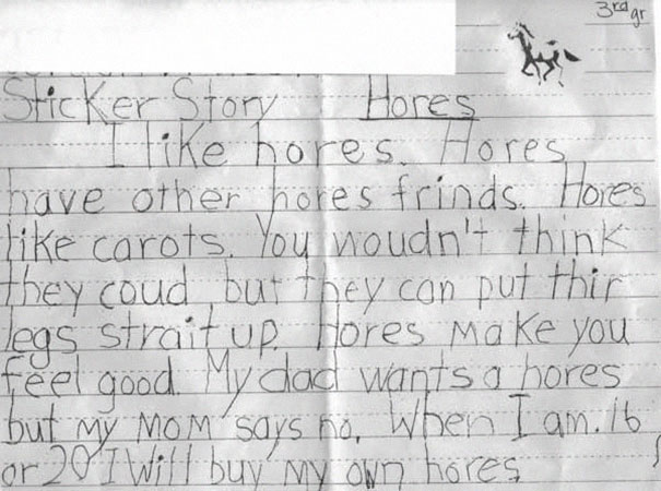 Childrens Hilariously Inappropriate Spelling Mistakes (9)