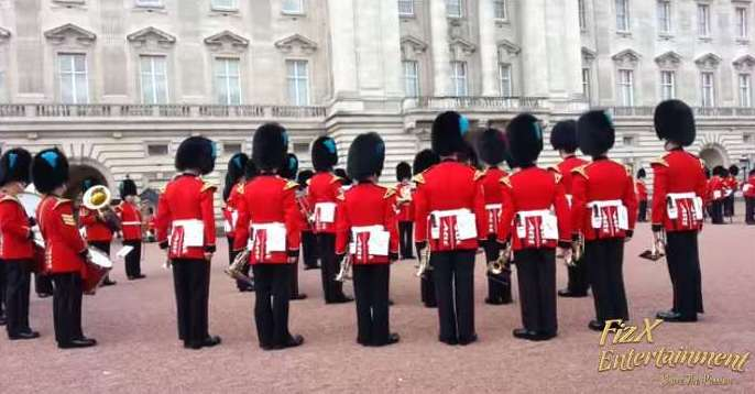 Royal Band Playing The Game Of Thrones Theme Song
