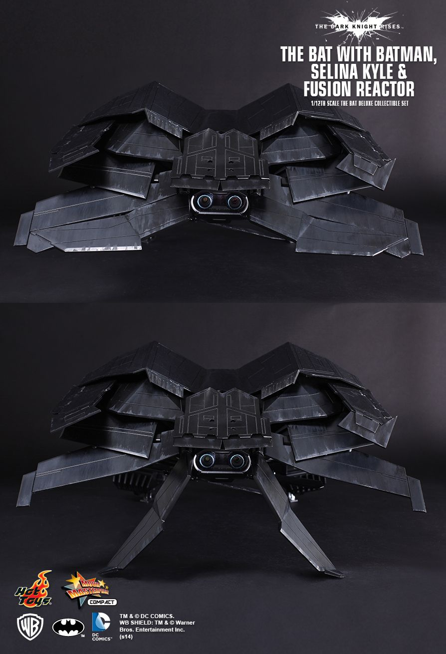 THE DARK KNIGHT RISES THE BAT Deluxe Collectible Set