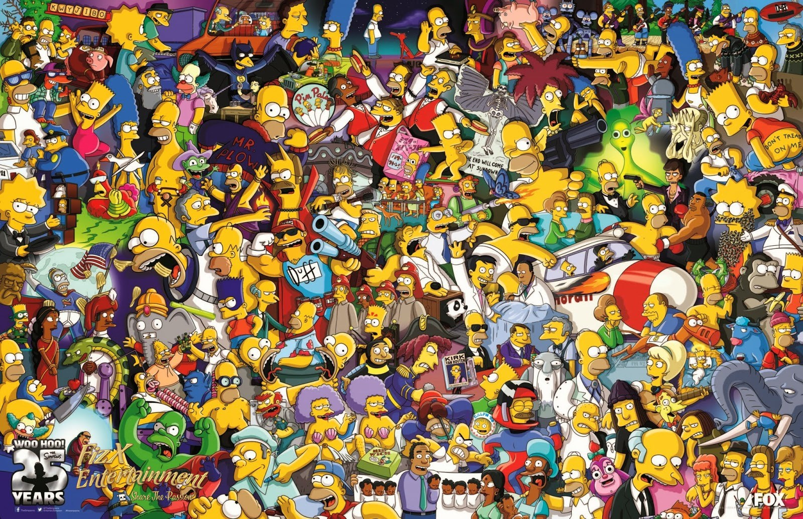 25th anniversary the simpsons