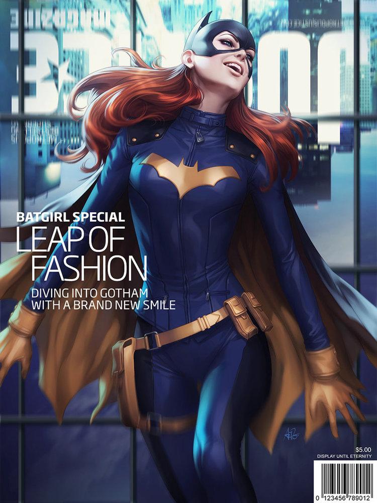 BATGIRL Cover Art