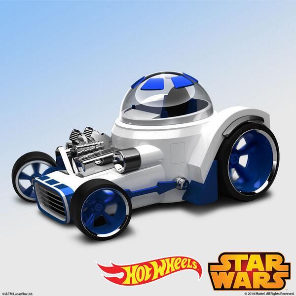 R2-D2 Roadster By Hot Wheels