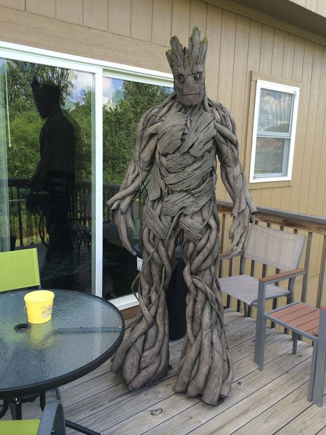 Amazing Guardians Of The Galaxy Groot Cosplay
