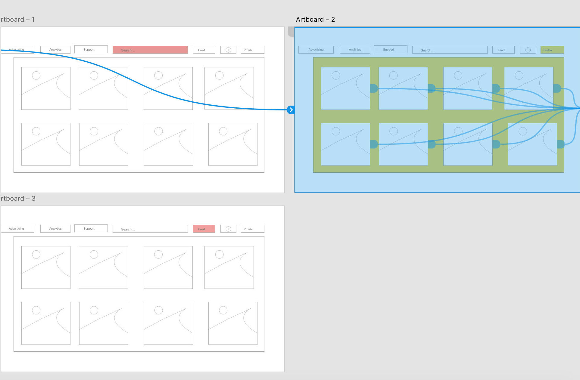 prototyping in Adobe XD for user experience design