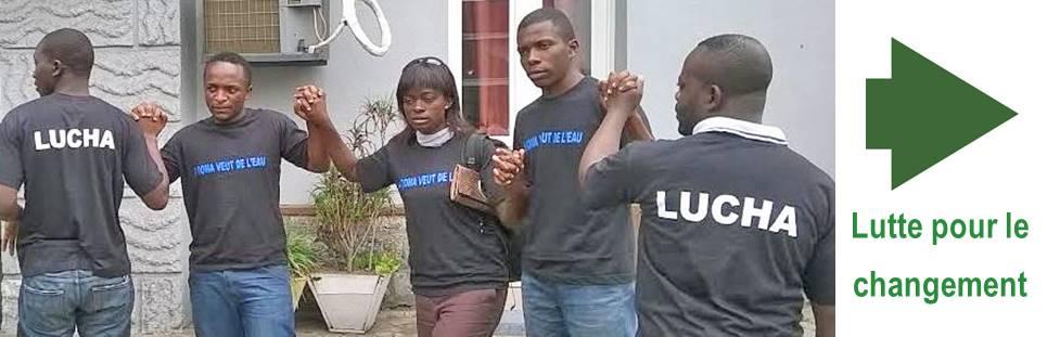 Goma-RDC : La LUCHA  exige la libération immédiate et sans condition de ses 5 militants encore en détention à la mairie