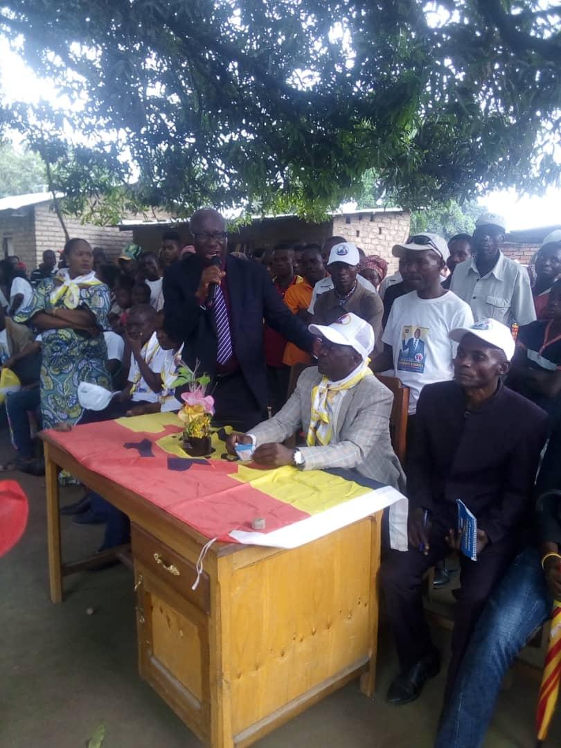 Fizi-Braka : Le Pasteur Jérémie MAHUNGU KIMBITI a tenu deux meetings, l'un à KATANGA et l'autre à FIZI Centre
