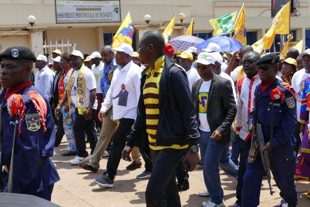 Sud-Kivu -Rdc : Les grandes lignes du discours de Shadary devant la population de Bukavu.