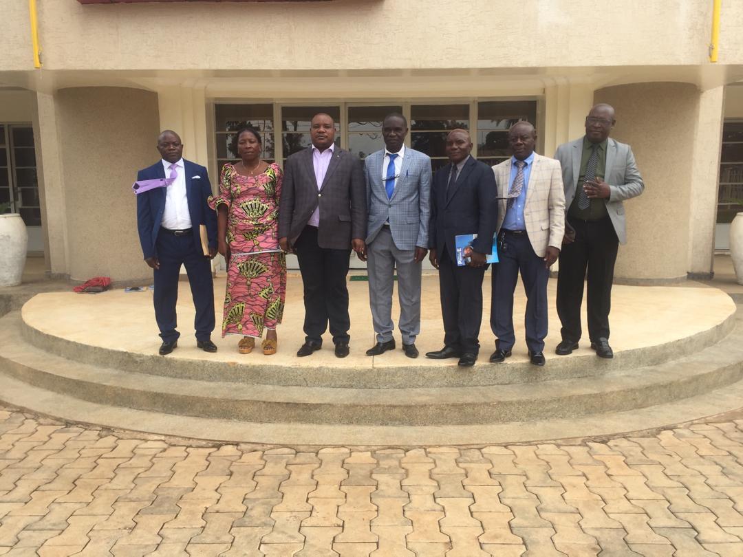 Sud-Kivu : Les maires de villes nouvellement créées reçus par le Gouverneur de Province.
