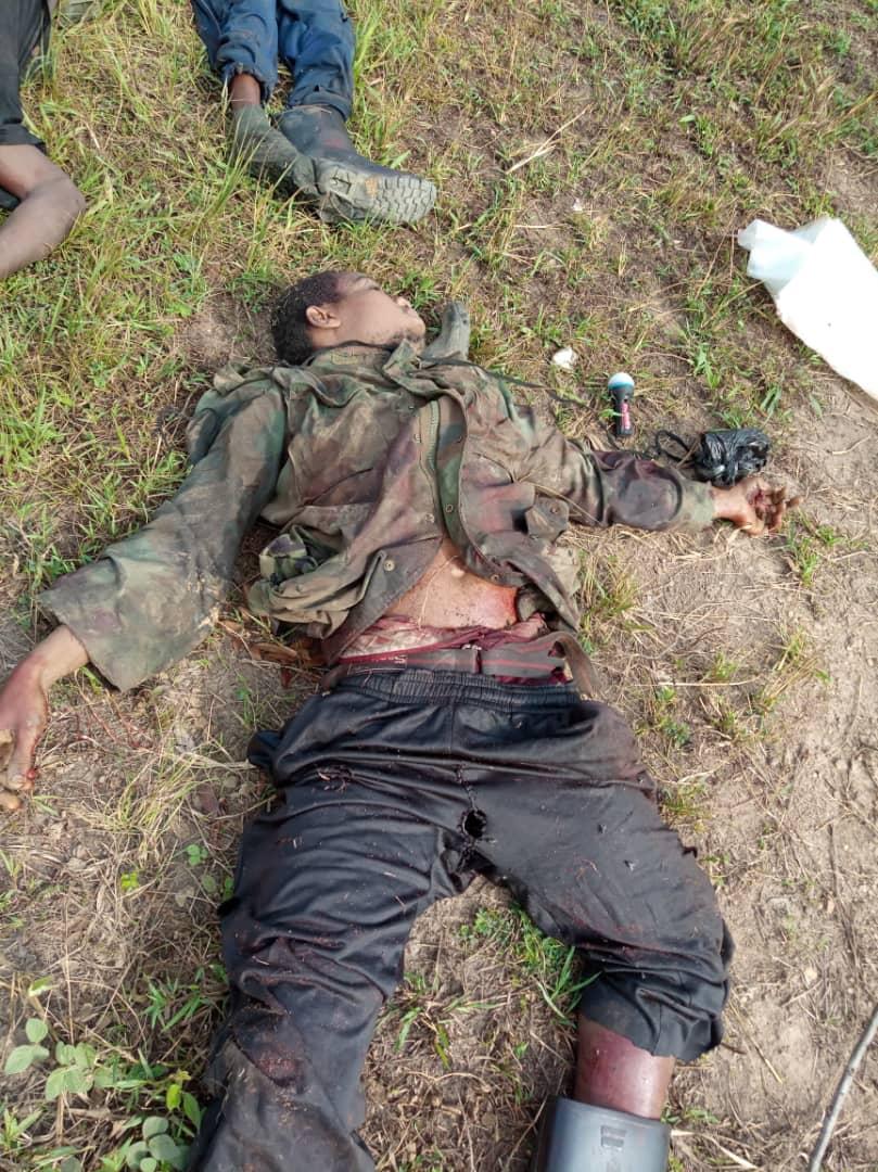 RDC : Affrontements ce matin entre FARDC et ADF à Mamove  dans le territoire de Beni au Nord Kivu