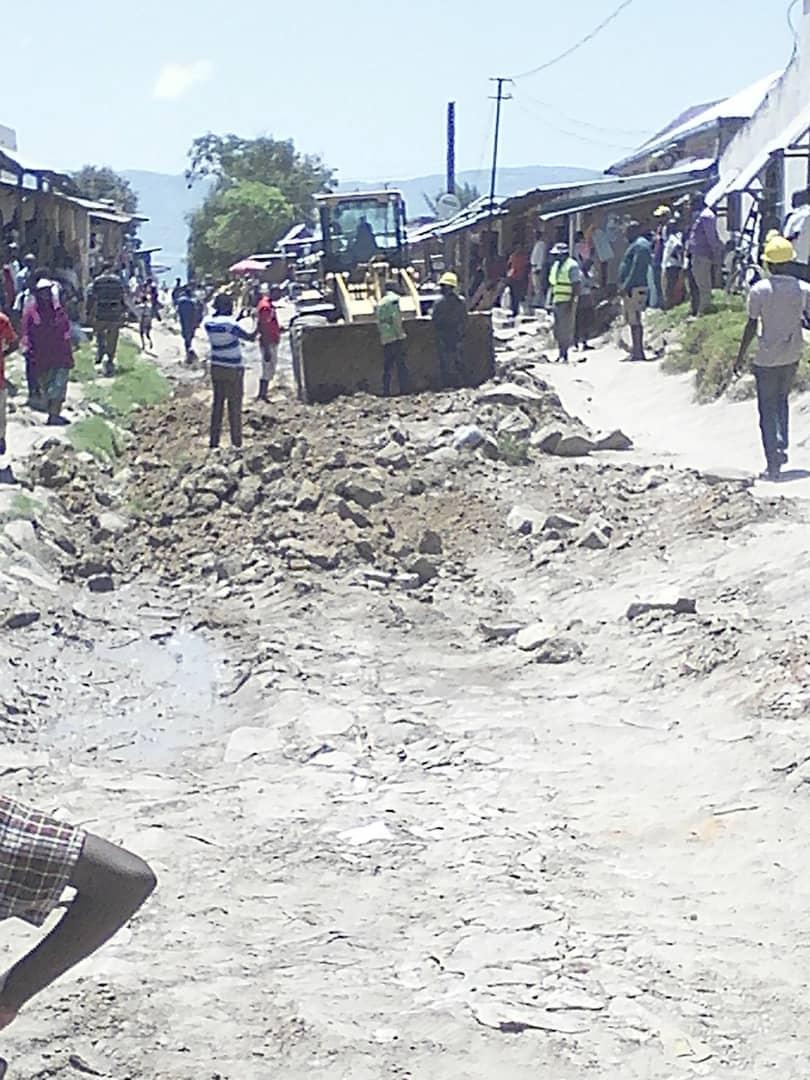 BARAKA-SUD-KIVU : plusieurs maisons écoulées suite aux pluies.