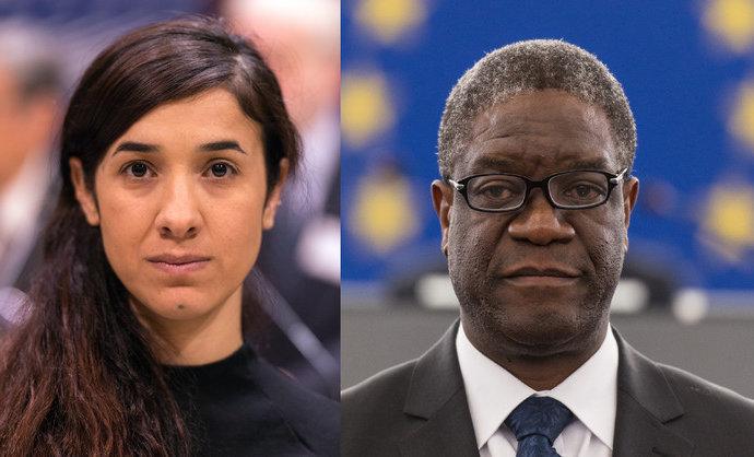Violences sexuelles lors des conflits Denis Mukwege et Nadia Murad réclament justice, l'ONU patine