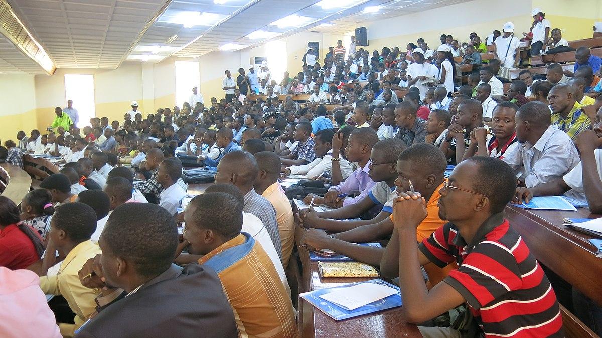 FIZI-BARAKA : les étudiants déplorent le manque de bonnes universités pour leur éducation.  Quel rôle doit jouer l'État?