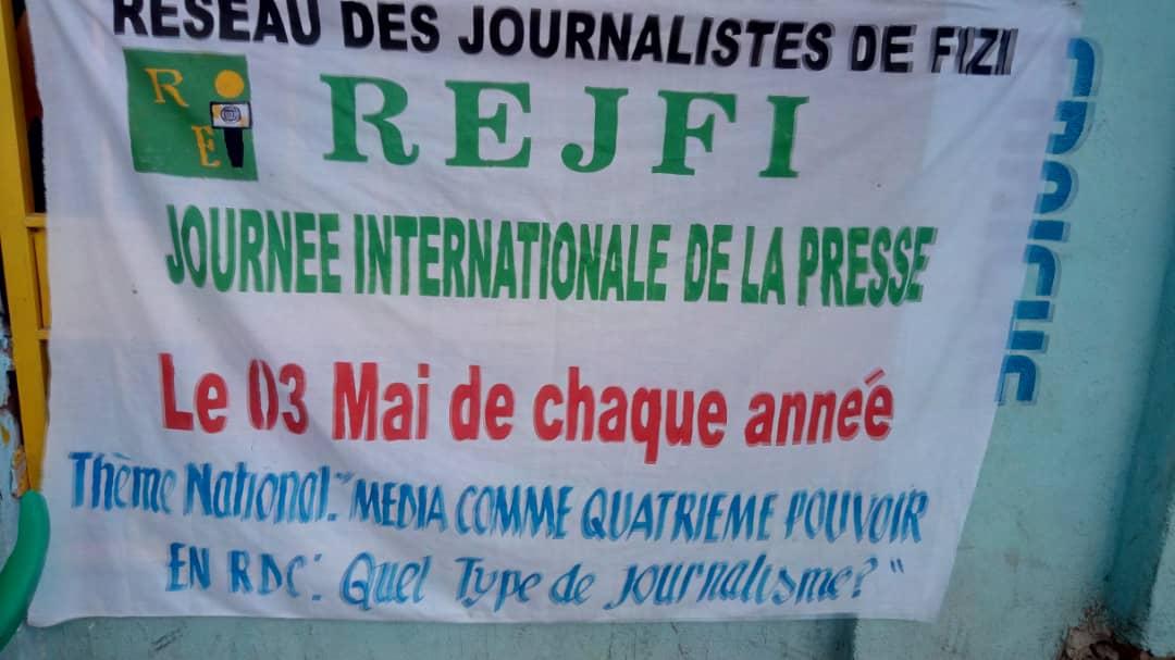 BARAKA-FIZI : célébration de la journée de la liberté de presse.