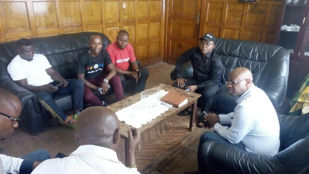Bukavu: Rencontre entre le Maire de la ville et quelques mouvements citoyens