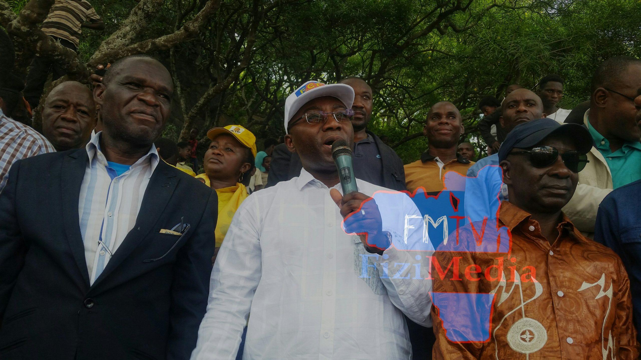 Sud-Kivu-uvira: 50% de realisations, Néhemie Mwilanya appelle la population à s'approprier les initiatives de la Mairie