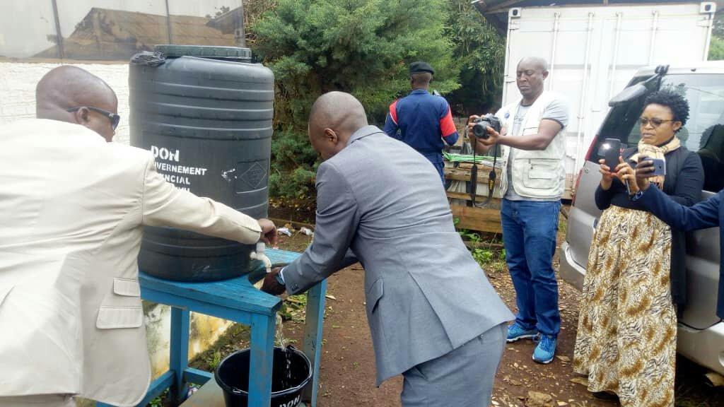 Sud-kivu- santé : lutte contre le corona virus,  le vice gouverneur Marc Malago Kashekere donne le ton
