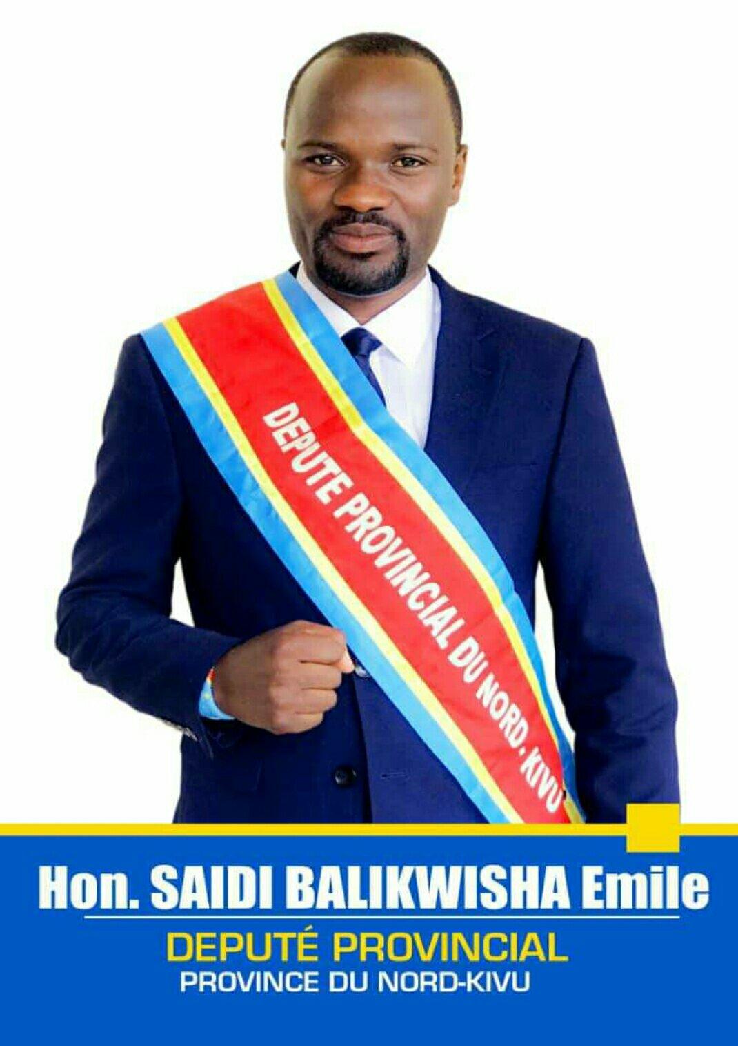 Nord-Kivu: le député Saidi Balikwisha très touché par la Mort de 13 jeunes eco-gardes tombés dans une embuscade à Rumangabo