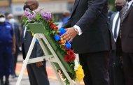 RDC: Felix-Antoine  Tshisekedi s'est incliné devant la dépouille du magistrat Dominique Ntambwe Kaniki