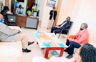 Sud-kivu : Marc Malago a reçu en audience la délégation de L'IITA