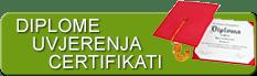Fizio GP - diplome, uvjerenja, certifikati
