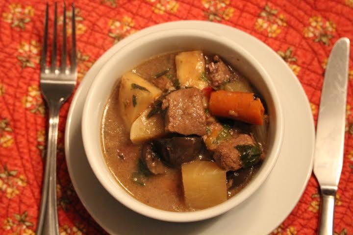 Harvest Veggie Beef Stew