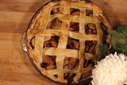 ready-for-serving-apple-cranberry-pie