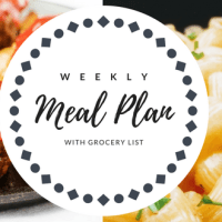 Weekly Meal Plan 18