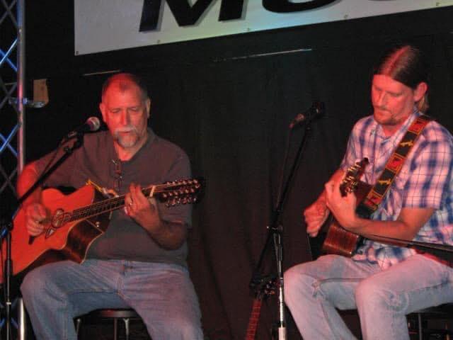 Christian Turner playing guitar